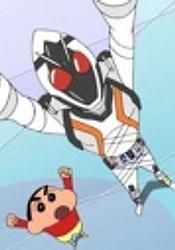 Kamen Rider Fourze x Crayon Shin-chan