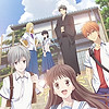 "New ""Fruits Basket"" anime listed with six Blu-ray & DVD volumes, first two volumes each contain four episodes"