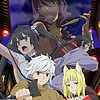 """""""Is It Wrong to Try to Pick Up Girls in a Dungeon? II"""" TV anime starts July 12th"""