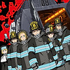 """Fire Force"" TV anime listed with 24 episodes across seven Blu-ray & DVD volumes"