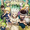 "New visual revealed for ""Dr. Stone"" TV anime"