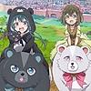 "Visual and promotional video revealed for ""Kuma Kuma Kuma Bear"" TV anime, animation production: EMT²"